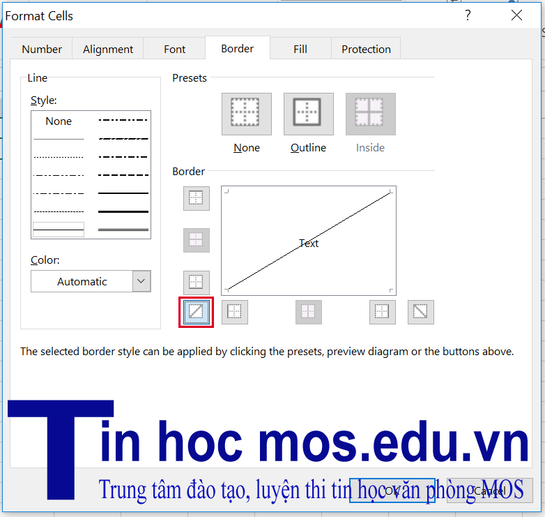 meo dung excel 2