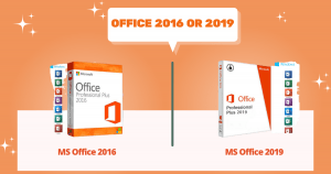 MS Office 2016 VS MS Office 2019