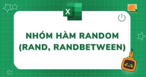 nhóm hàm random trong excel